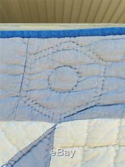 (144) WONDERFUL Vintage Quilt 8 POINT STARS Handmade