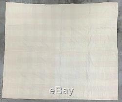 Antique Handmade Quilt Feed Flour Grain Sack Bag VTG Lemoyne Star Block Barn