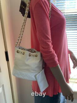 Chanel Vintage 1989 Bucket Drawstring Bag