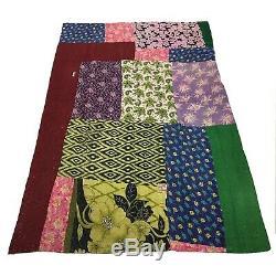 Gorgeous Vintage Kantha Quilt