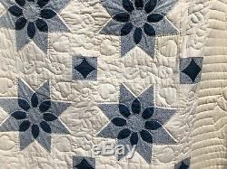 King Size Hand-made Amish QUILT- Vintage