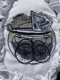Vintage Coachbuilt Pram Quilt Set Bn