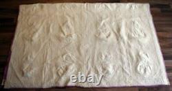 Vintage Handmade Hand Quilted Sunbonnet Sue Pattern Quilt 62 X 78